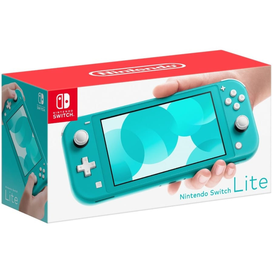 Nintendo switch lite turquoise(Comes with 128 GB Sd card, travel case) 90622edc-b6be-4e80-940c-ce365dbab71a