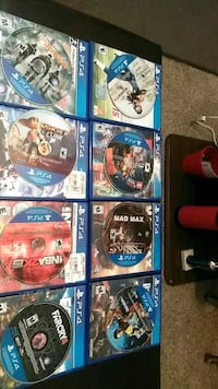 assorted Sony PS4 game cases Louisville, 40211