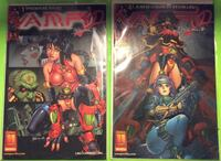 Collectible comic Vampi Issues's 1 & 4 Brampton, L6X 2J9