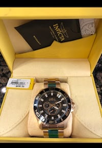 Invicta Gold watch Los Angeles, 91402