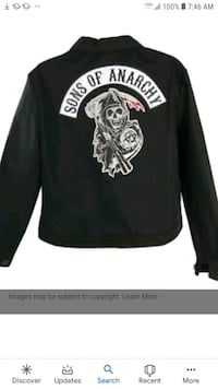 Original Sons Of Anarchy Jacket  Edgemere, 21219