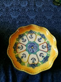 Serving platters and plate Scottsdale
