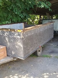 brown and black utility trailer Quinte West