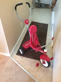 toddler's red and white Radio Flyer trike Surrey, V3W 6X6