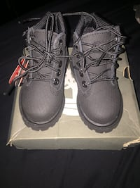 Toddler size 4 timberland boots.  Ajax, L1S 5G6