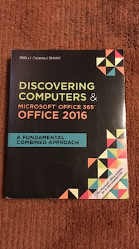 Discovering Computers & Microsoft office 365 office 2016 Henrico, 23229