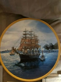 Collector's Plate, the Great Republic Randolph, 02368