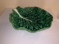 Very Large Made in Portugal Cabbage Leaf Bowl Markham, L3T 3L4