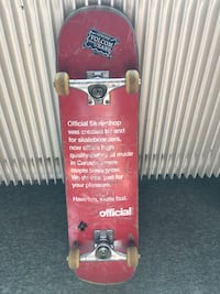 Skateboard rouge Toulouse, 31000
