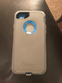 Grey and blue otterbox iphone case for Iphone 7 Saint Cloud, 34772
