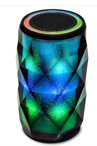 Touch Control HiFi Bluetooth Speaker with Colorful LED Light - COLORFUL OSLO