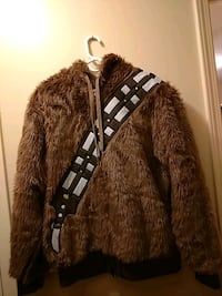 Large Chewbacca zippered hoodie Huntsville, 35803