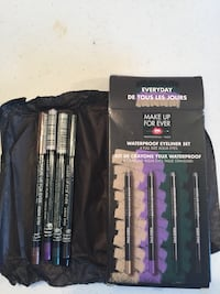 Brand new makeup forever waterproof eyeliner set of four $10 Fairfax, 22032