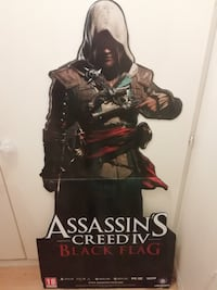 affiche publicitaire assassin's creed black flag Nanterre