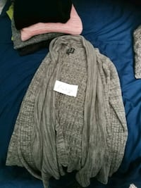 gray and white long-sleeved dress Ottawa, K1Y