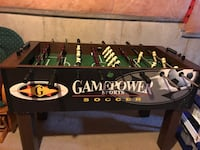 Used Black Gamepower Foosball Table For Sale In Mississauga Letgo - Gamepower foosball table