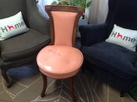 Pink, Victorian, Leather, Chair Denver, 80212