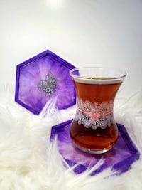 Hand Crafted Resin Coasters