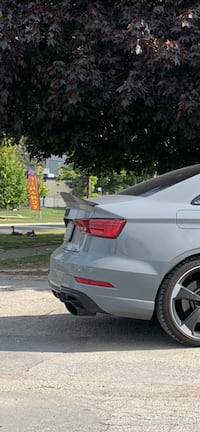 Audi Carbon Fiber High Kick Spoiler