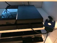 black Sony PS4 game console Maine