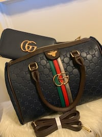 black and brown Gucci leather handbag Silver Spring, 20906