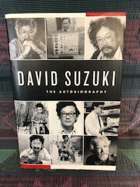 "SIGNED David Suzuki ""The Autobiography"" book. Rare 2006. Hamilton, L8H 4R3"