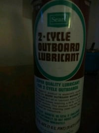 Vintage Sears 2-Cycle Outboard Lub Ogden, 84401