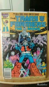 The Transformer comic Movie