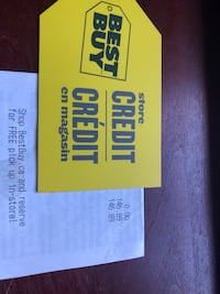 Gift card Best Buy Mississauga