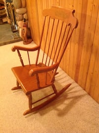 Maple Rocking Chair Clearview, L0M