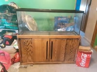 55 Gallon Beautiful Gunstock Oak Aquarium  Severn, 21144