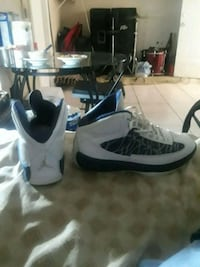 White and blue Jordan size 9 pick up only please  Greenacres, 33463