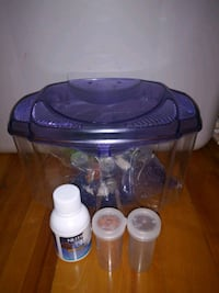Fish Tank for Betta fish (Food included)