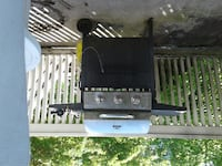 black and gray gas grill null