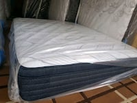 New Queen mattress +box 450$ pocket coil mid firm delivery 40 Edmonton, T5A 4H3