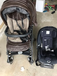 Peg perego switch four stroller with accessories Brampton, L6V