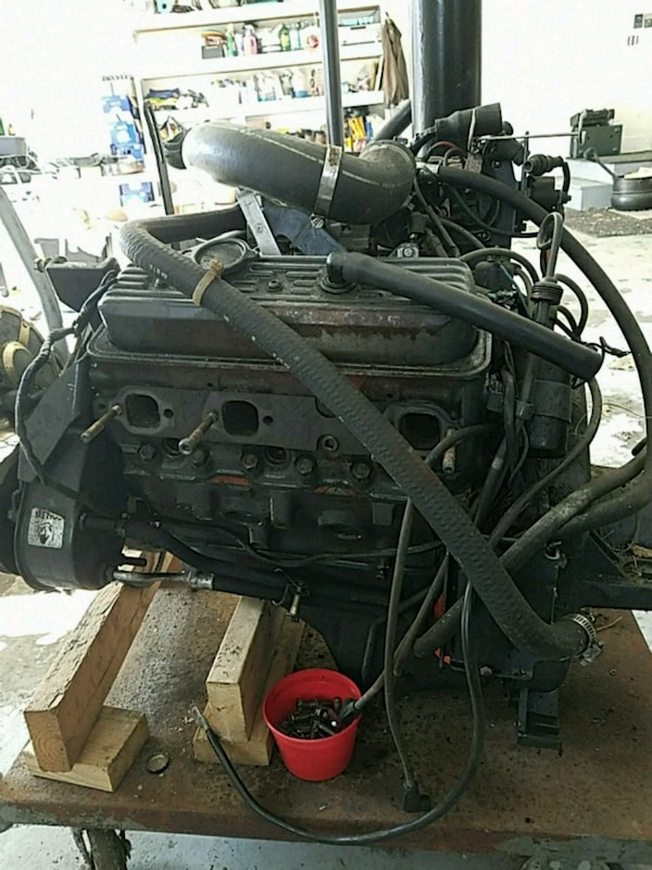 Boat engine for parts