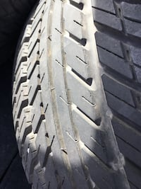 225/60r15 Tires on universal five lug wheels tires are in excellent condition $$ Dublin, 94568