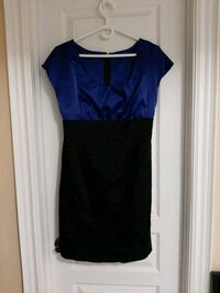 Black and blue party dress - Size M