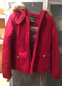 bomber woolrich rosso