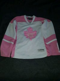 white and pink Toronto Maple Leafs jersey Simcoe, N3Y