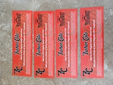 Four tickets to go see any Fisher cats game for 10