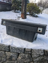 Truck bed tool box ( will fit a Tacoma or smaller sized truck)