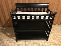 Black Changing Table Burke
