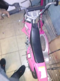 Pink electric drit bike