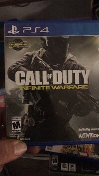 Call of Duty Infinite Warfare PS4 game case Corona, 92879