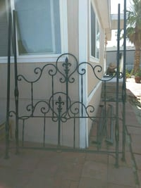 Early 1900s wrought iron queen canopy bed  Desert Hot Springs, 92241