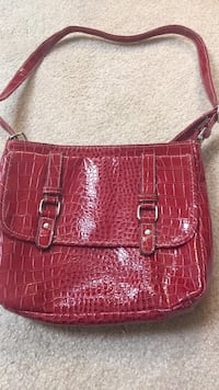 red crocodile skin leather tote bag Frederick, 21703