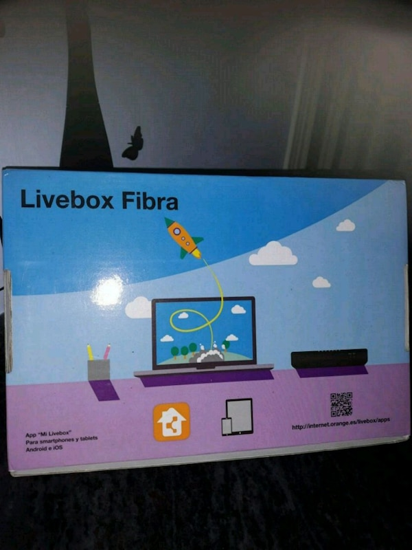 Caja de dispositivo Livebox Fibra