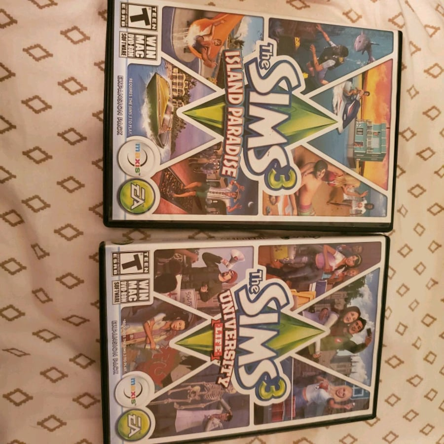Sims3 expansion packs